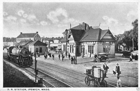 Ipswich RR depot